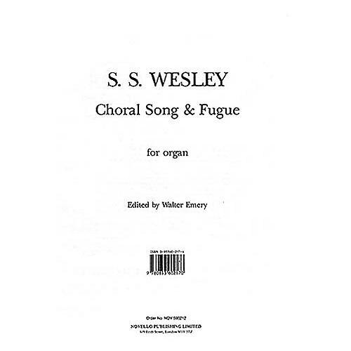 Music Sales Samuel Sebastian Wesley: Choral Song And Fugue Music Sales America Series-thumbnail