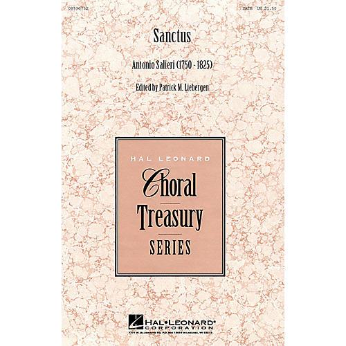 Hal Leonard Sanctus (from Mass in D) (SATB) SATB arranged by Patrick Liebergen-thumbnail