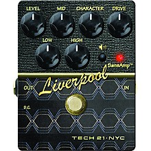 Tech 21 SansAmp Character Series Liverpool V2 Distortion Guitar Effects Pedal