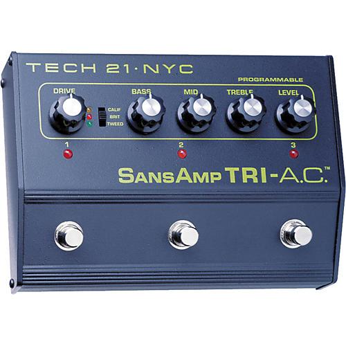 Tech 21 SansAmp Tri-A.C. Distortion Pedal