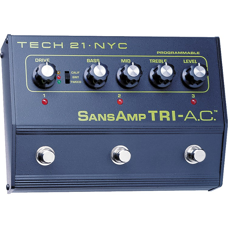 Tech 21 SansAmp Tri-A.C. Distortion Pedal