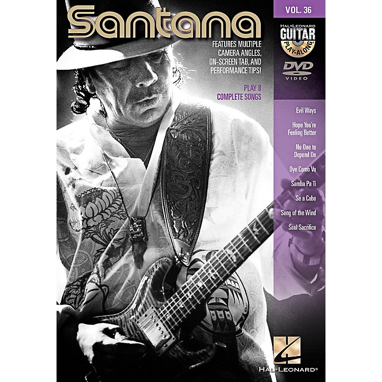 Hal Leonard Santana - Guitar Play-Along DVD Volume 36