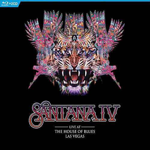 Universal Music Group Santana IV - Live At The House Of Blues, Las Vegas [Blu-Ray/2 CD]-thumbnail