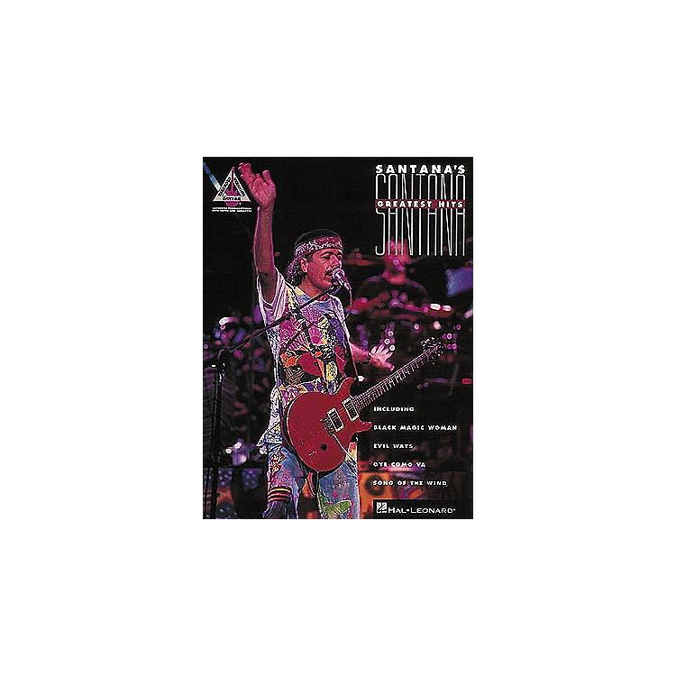 Hal LeonardSantana's Greatest Hits Guitar Tab Songbook