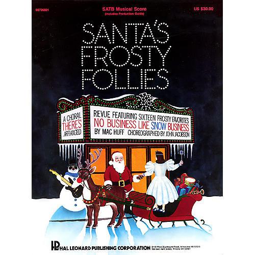 Hal Leonard Santa's Frosty Follies (Choral Revue) SAB-thumbnail