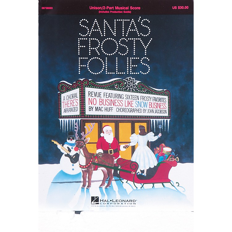 Hal LeonardSanta's Frosty Follies Choral Revue