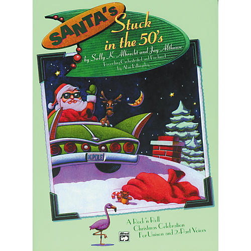 Alfred Santa's Stuck in the '50s Listening CD