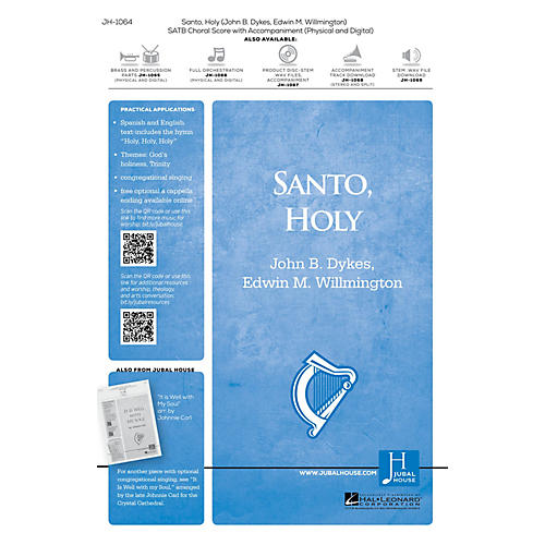 Jubal House Publications Santo, Holy BRASS/PERCUSSION PARTS Composed by Edwin M. Willmington-thumbnail
