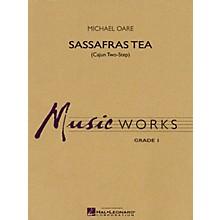 Hal Leonard Sassafras Tea (Cajun Two-Step) Concert Band Level 1.5 Composed by Michael Oare