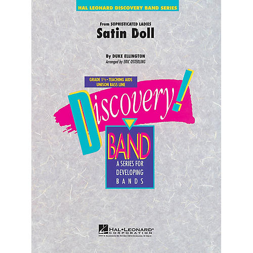 Hal Leonard Satin Doll Concert Band Level 1.5 Arranged by Eric Osterling-thumbnail