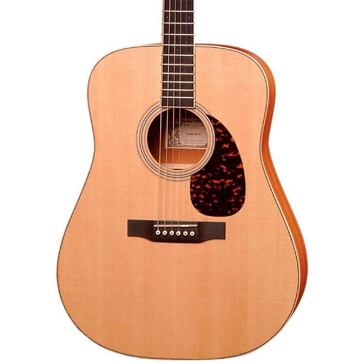 Larrivee Satin Dreadnought Acoustic Electric Guitar Natural African Mahogany