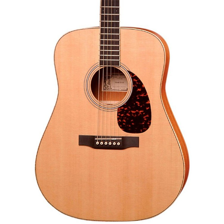 Larrivee Satin Dreadnought Acoustic Guitar Natural African Mahogany