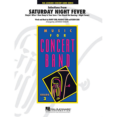 Hal Leonard Saturday Night Fever, Selections from - Young Concert Band Level 3 by Johnnie Vinson-thumbnail