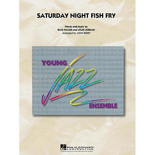 Hal Leonard Saturday Night Fish Fry Jazz Band Level 3 Arranged by John Berry-thumbnail