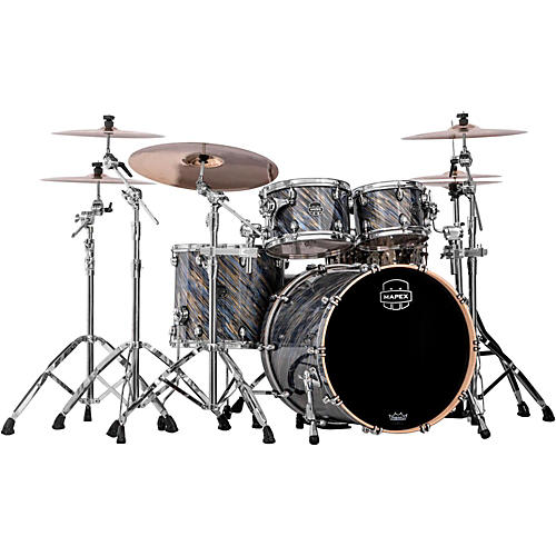 Mapex Saturn IV 4-Piece Shell Pack with Deep Bass and Shallow Toms