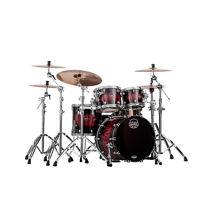 Mapex Saturn IV MH 4-Piece Jazz Shell Pack Natural Ash Burl