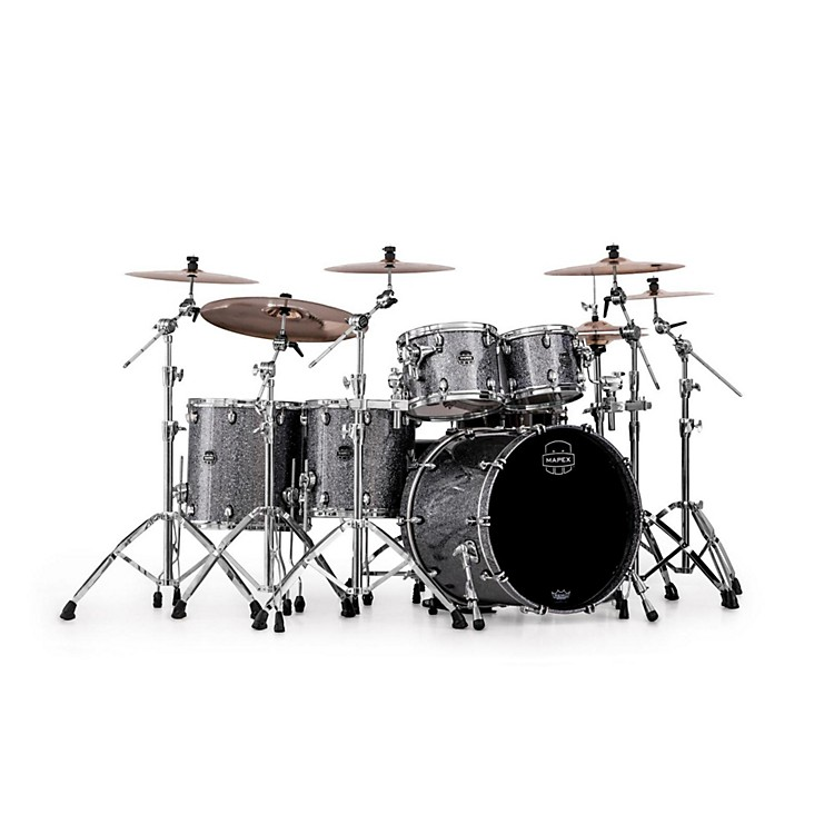 Mapex Saturn IV MH 5-Piece Studioease Shell Pack Granite Sparkle