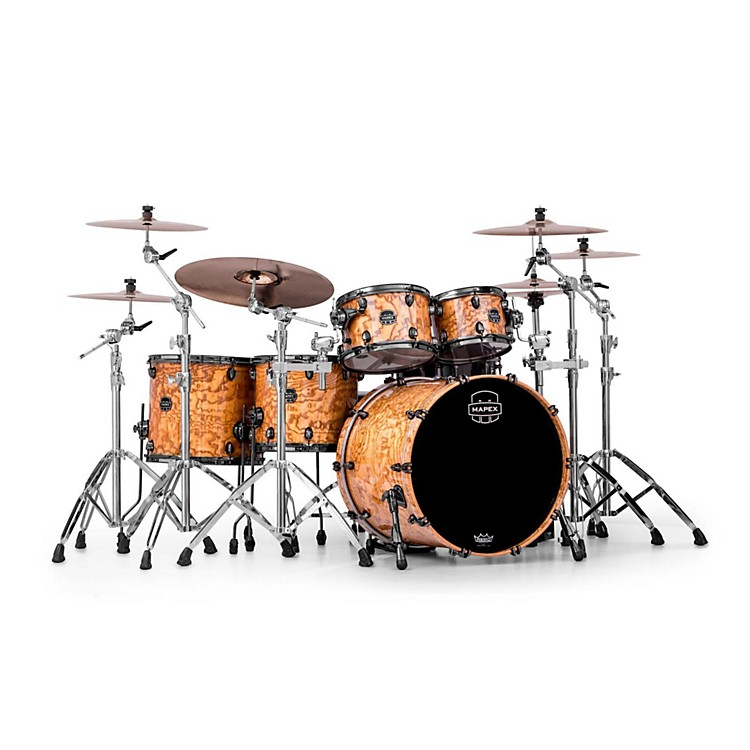 Mapex Saturn IV MH 5-Piece Studioease Shell Pack Short Toms Deep Bass