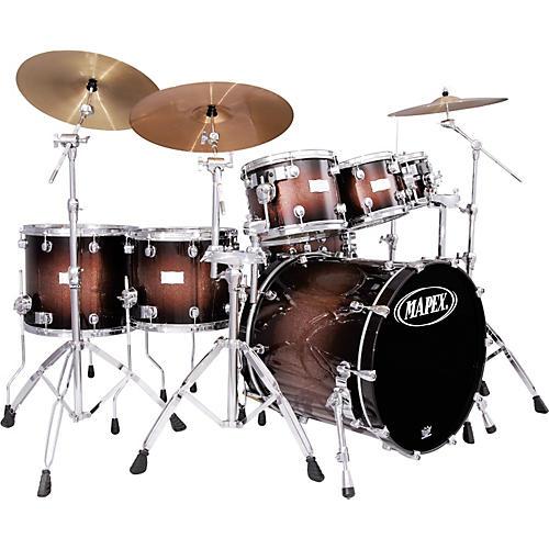 Mapex Saturn Plus Bass Fusion Pop 22 7-Piece Drum Set