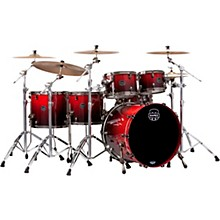 Mapex Saturn V Exotic Edition 5-Piece Studioease Shell Pack Cherry Mist Maple Burl