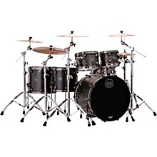 Mapex Saturn V Exotic Edition 5-Piece Studioease Shell Pack Flat Black Maple Burl