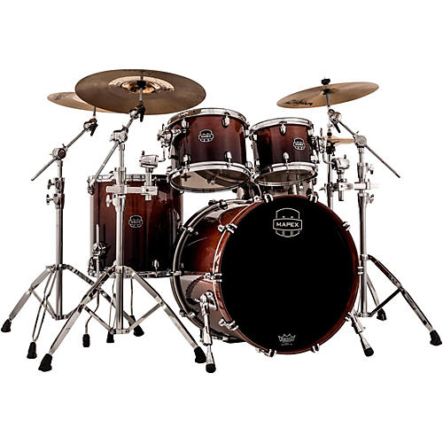 Mapex Saturn V Rock 4-Piece Shell Pack With Soniclear Edge