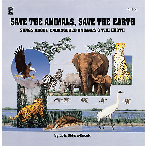 Kimbo Save The Animals, Save The Earth (CD/Guide)-thumbnail