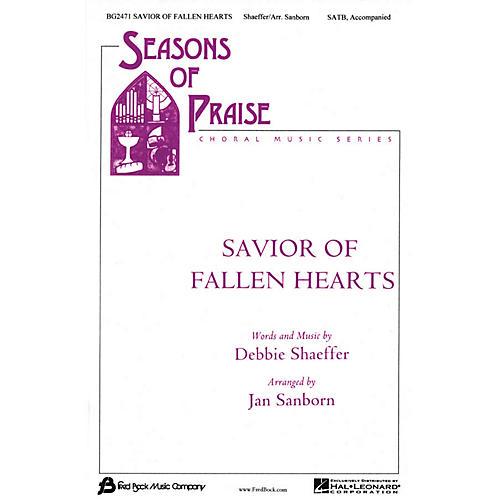 Fred Bock Music Savior of Broken Hearts (SATB) SATB arranged by Jan Sanborn-thumbnail