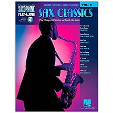 Hal Leonard Sax Classics - Saxophone Play-Along Vol. 4 (Book/Online Audio)