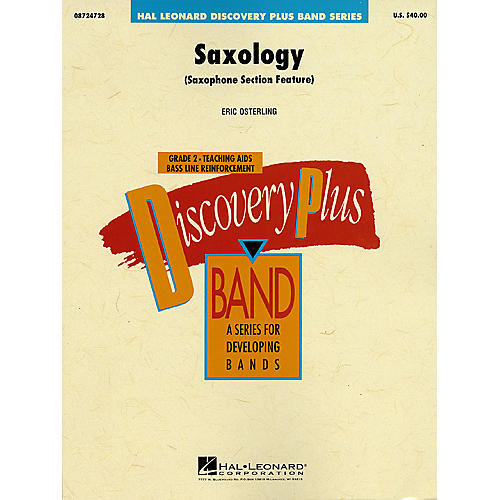 Hal Leonard Saxology - Discovery Plus Concert Band Series Level 2 composed by Eric Osterling-thumbnail