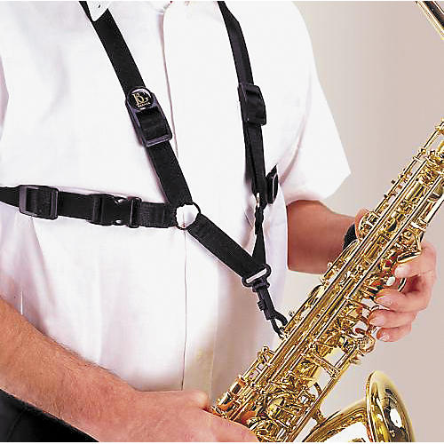BG Saxophone Harness With Plastic Snap Hook For Men