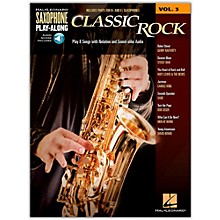 Hal Leonard Saxophone Play-Along Vol. 3 - Classic Rock (Book/Online Audio)