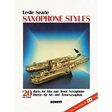 Schott Saxophone Styles - 20 Duets Schott Series
