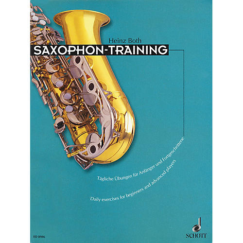 Schott Saxophone Training (Daily Exercises for Beginners and Advanced Players) Schott Series Book-thumbnail
