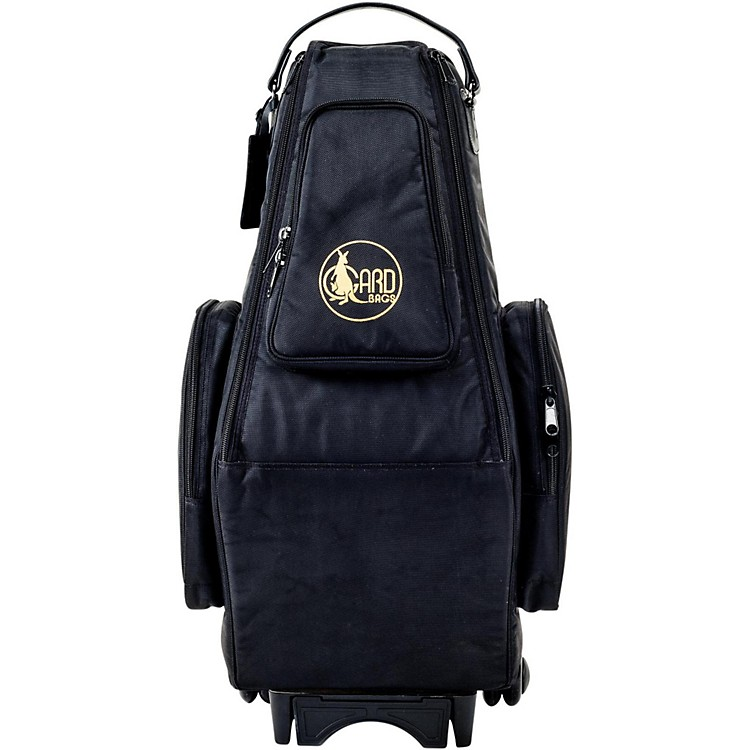 GardSaxophone Wheelie Bag in Synthetic with Leather TrimFits 2 Altos or Alto/SopranoSynthetic w/ Leather Trim