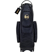 Open BoxGard Saxophone Wheelie Bag in Synthetic with Leather Trim