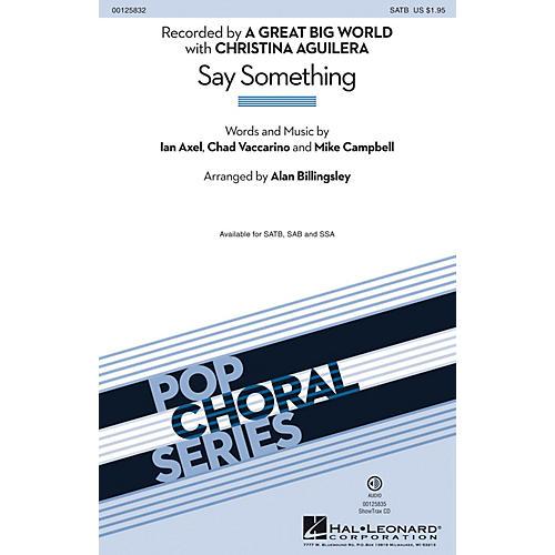 Hal Leonard Say Something ShowTrax CD
