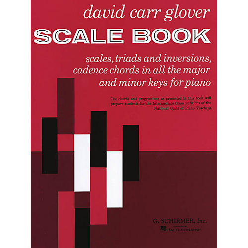 G. Schirmer Scale Book (Piano Technique) Piano Method Series Composed by David Carr Glover-thumbnail