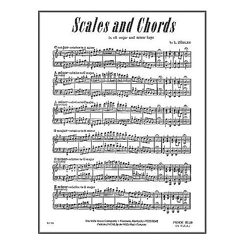 Willis Music Scales And Chords In All Major & Minor Keys by Louis Kohler