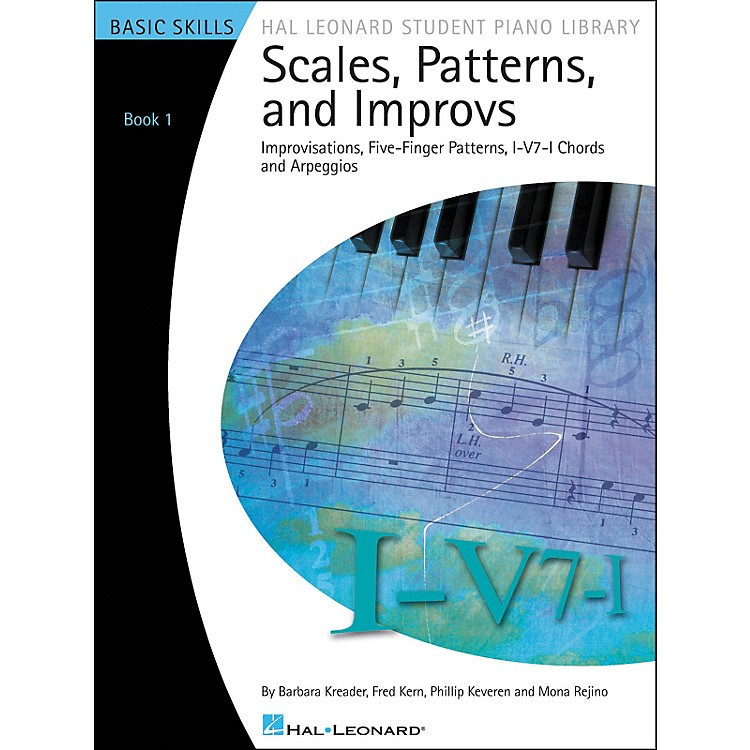 Hal LeonardScales, Patterns And Improvs - Book 1 Hal Leonard Student Piano Library