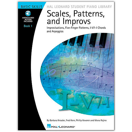 Hal Leonard Scales, Patterns And Improvs - Book/Online Audio 1 - Hal Leonard Student Piano Library Book/Online Audio-thumbnail