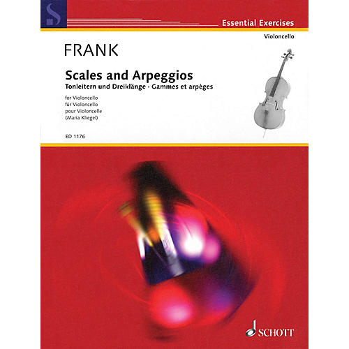 Schott Scales and Arpeggios (Cello) Schott Series Softcover-thumbnail