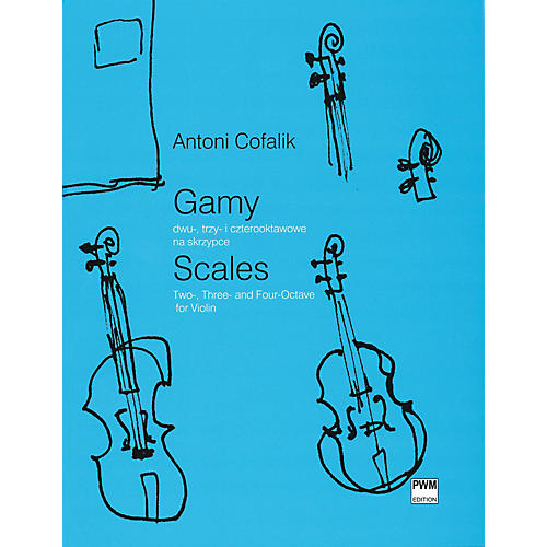 PWM Scales for Violin (Two-, Three- and Four-Octave) PWM Series Softcover-thumbnail