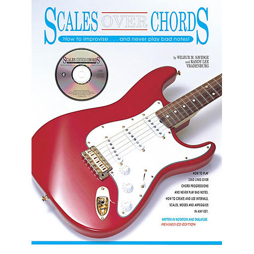 Music Sales Scales over Chords Music Sales America Series Softcover with CD Written by Wilbur Savidge-thumbnail