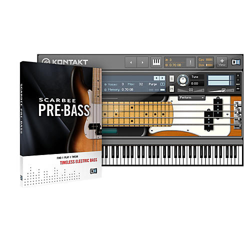 Native Instruments Scarbee Pre-Bass