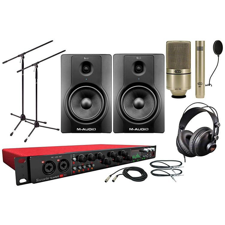 Focusrite Scarlett 18i20 MXL Package