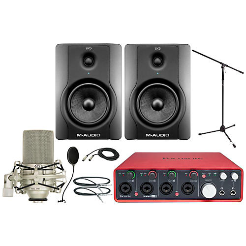 Focusrite Scarlett 18i8 MXL Package