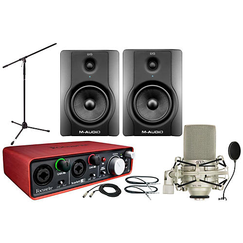 Focusrite Scarlett 2i2 BX5 Package