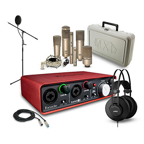 Focusrite Scarlett 2i2 K52 and 990 Package