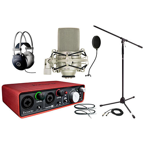 Focusrite Scarlett 2i2 MXL Package